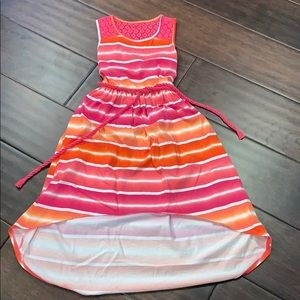 Children's Place Size Large 10 12 High Low Dress